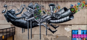 Source: Street Art News. Image: Phlegm