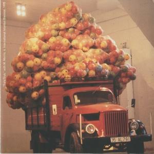 Source: Artslant. Image: Hüseyin Bahri Alptekin and Michael Morris, Turk Truck, 1995, 4th Istanbul Biennial.